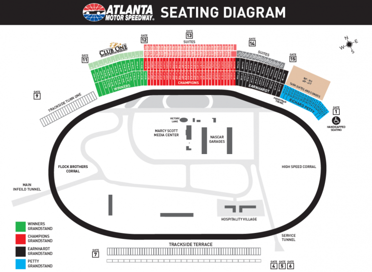 2019 atlanta nascar race packages atlanta folds of honor 500 race