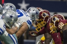 Dallas Cowboys vs Washington Redskins NFL Game Travel Packages and Tours November 30, 2017